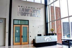 University of Iowa Football Operations Center - Reception Desk