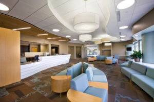 University of Iowa OBGYN Clinic Lobby - New Cabinets