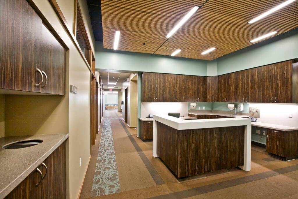 University of Iowa OBGYN Clinic - New Cabinets